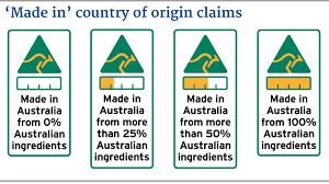 Food label standards